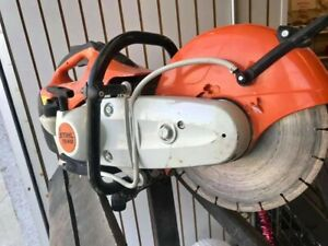 Stihl Ts410 12 Quickie Saw With 4 Diamond Concrete Blades And 10 Abrasive