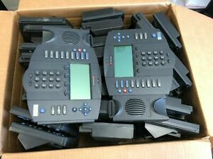 Lot Of 17 Polycom Soundpoint Ip 501 Sip Voip Phone With Stand 2201 11501 001