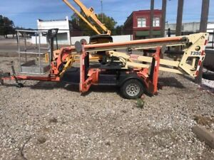Jlg T350 2010 35ft Towable Boom Lift 362 Hours
