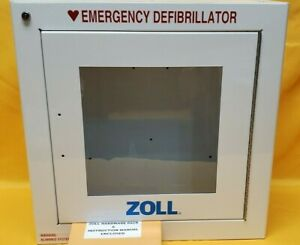 Zoll Aed Plus Standard Size Cabinet With Audible Alarm zoll 800 0855