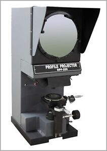 Radical Profile Projector Optical Comparator Digital Inch Mm Measuring Microm