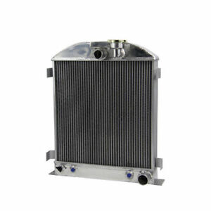 3row Radiator Fits Chevy engine Ford grill shells 3 chopped 1935 1936 1939 1940