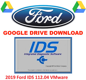 New 2019 Ford Ids Program 112 04 Diagnostic Software Tool Vmware Download