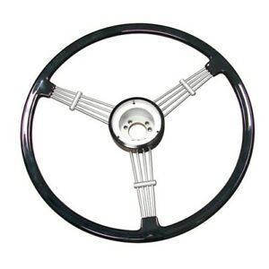 Steering Wheel Black Banjo Design Dunebuggy Vw