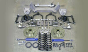 1940 46 Chevy Truck Mustang Ii Complete Front Suspension Manual Stock Ford Rotor