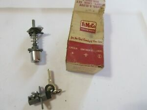 1959 Station Wagon Tailgate Glove Box Lock Set Vtg Ford Nos W 2 Keys 59