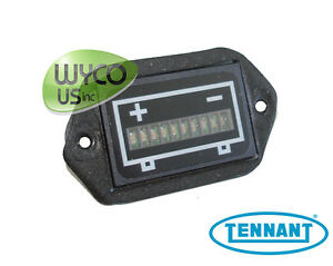Gauge Battery Discharge 24v Tennant A3 T3 T5 Speed Scrub 17 20 24 392894