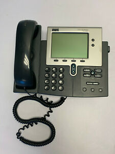 Cisco 7970 Ip Phone Cp 7970g Voip Color Touchscreen 8 Line Business Telephone
