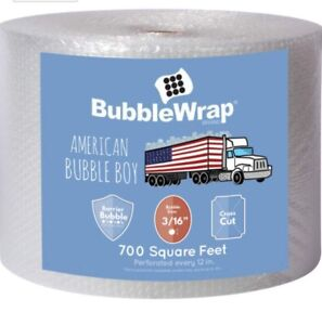 American Bubble Boy 3 16 Small Bubble Wrap 700 Ft Long 1 Ft Wide new