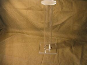 12 Tall Acrylic Civil Indian War Ww2 Relic Helmet Hat Cap Display Stand