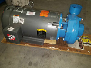 Goulds 3656 With Baldor 15 Hp 4bf1m5c0 2 1 2 X 3 7 Centrifugal Pump 230 460 3 Ph