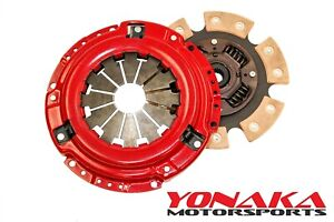 Yonaka Honda Civic Performance 6 Puck Stage 3 Clutch Set 400hp 300ft Lbs Torque