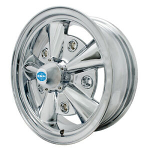 5 Rib Wheel All Chrome 5 5 Wide Fits 5 On 205mm Vw Dunebuggy