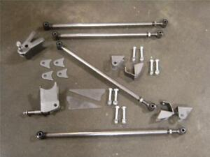 1933 1934 Ford Car Triangulated 4 Link Four Bar Kit 33 34 Coupe Sedan Roadster