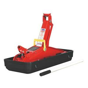 Sealey 2 Ton Lifting Capacity Trolley Jack With Tough sturdy Storage Case