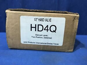Aaa Air Gas General Purpose 1 2 Hand Valve Hd4q Free Shipping Manual Lever