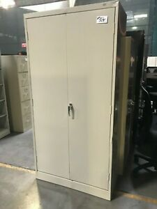 Used Metal Storage Cabinet >> Used Storage Cabinets In Stock Jm Builder Supply And Equipment