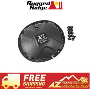 Rugged Ridge Boulder Aluminum Diff Cover Dana 35 16595 14 Matte Black