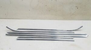 66 1966 Ford Thunderbird Roof Top Driprail Drip Rail Strip Trim Moldings