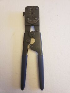 Sargent Tools Long Handle Insulated Crimp Tool 22 10 Awg
