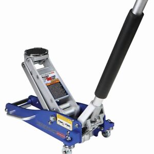 1 5 Ton Floor Jack Aluminum Racing With Rapid Pump Lifts Vehicles Garage Raise