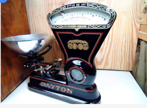 We Custom Restore Cast Iron Antique Dayton Candy Mercantile Scale For You