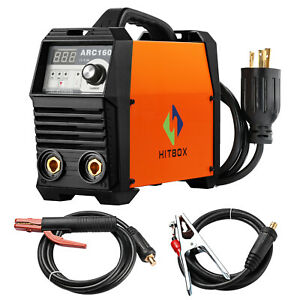 Arc Welder 160a Stick Digital Inverter Welder 220v Dc Lift Tig Welding Machine