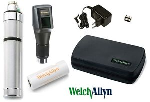 Welch Allyn 3 5v Streak Retinoscope Nicad Battery Handle Ophthalmology New