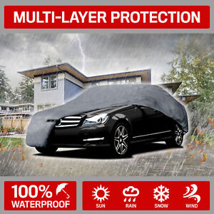 5 layer Outdoor Car Cover For Ford Mustang 1965 2004 Dust Rain Snow Waterproof