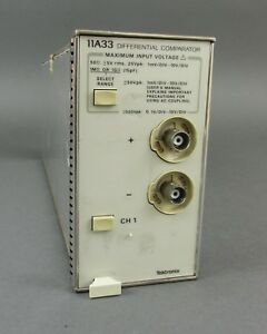 Tektronix 11a33 Differential Comparator Plug in Dc To 150mhz