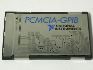 National Instruments Pcmcia gpib Card