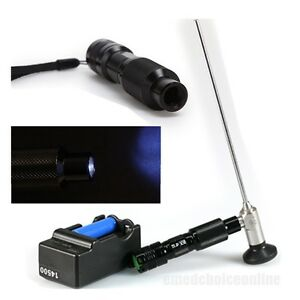 Handheld Mini Led Cold Light Source Lamp Endoscope 3 10w Surgical Battery Usps