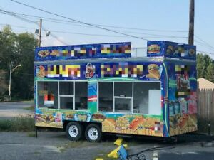 Food Concession Trailer For Sale In Massachusetts