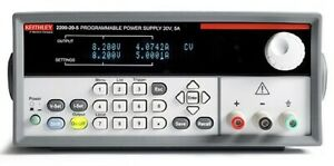 New Keithley 2200 20 5 Power Supply 20 Volts 5 Amps Dc Programmable