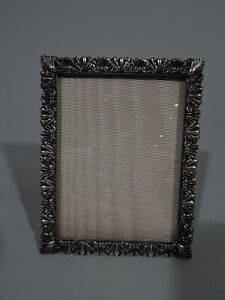 Bigelow Kennard Frame Picture Photo Antique American Sterling Silver