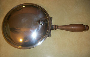 Antique Sheffield Silver Plated Silent Butler