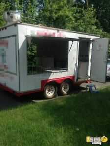 8 X 14 Food Concession Trailer For Sale In Maryland