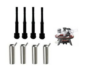 Melasty Rubber Inflation 12 Long stainless Steel Shell milking Claw 240cc Combo