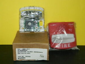 New Simplex 4903 9417 Truealert Non addressable Red Wall Horn Strobe
