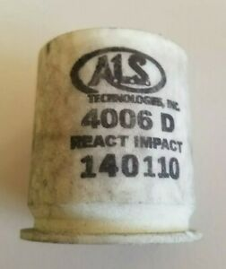 6x ALS Technologies INC Once Fired 40mm Composite Cases  Movie Prop Reload flare