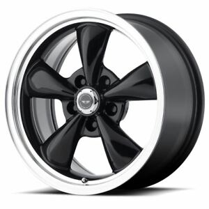 1 New 17x7 5 45 American Racing Torq Thrust M Gloss Black 5x114 3 Wheel Rim