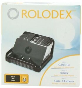 Rolodex Card File Mesh Open Business Card File 125 cards 2 1 4 X 4 Box Of 1