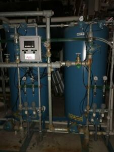 Lakeside Water Treatment 15 Cu ft Industrial Dual Tank Water Softener System