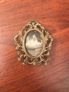 Antique Art Deco Mini Victorian Picture Frame