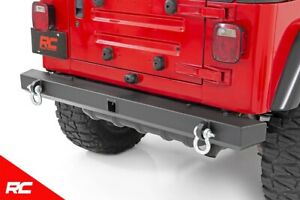 Rough Country Rear Offroad Bumper Fits 1987 2006 Jeep Wrangler Tj Yj Hitch