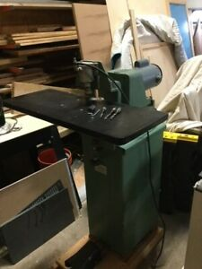 Ritter 130 Horizontal Boring Drill Machine Used Woodworking 3 Bits Included