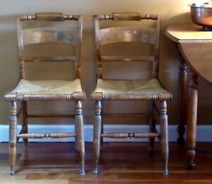 Vintage Reproduction Hitchcock Chairs