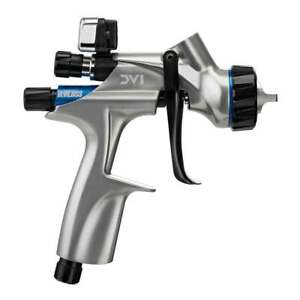 Devilbiss Digital Dv1 Basecoat Paint Spray Gun With Dv1 b Plus Hvlp Cap 704504