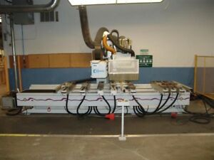 Weeke Optimat Bp 150 Cnc Router Point To Point Machine Chicago Il Area