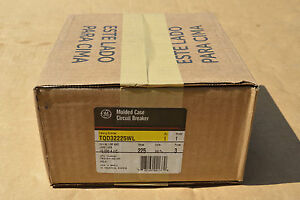 Ge Tqd32225wl 225amp 240v 3pole Circuit Breaker New In Factory Sealed Box